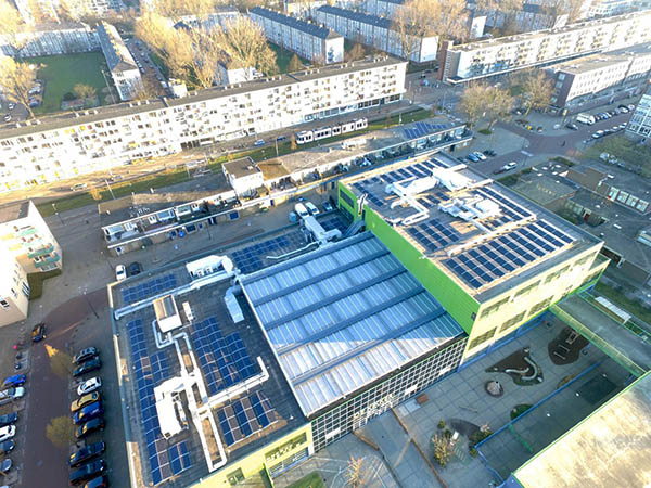 Project: Evertsweertplantsoen - 112 kWp