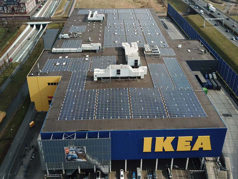 Project: IKEA Amersfoort - 1,2 MWP