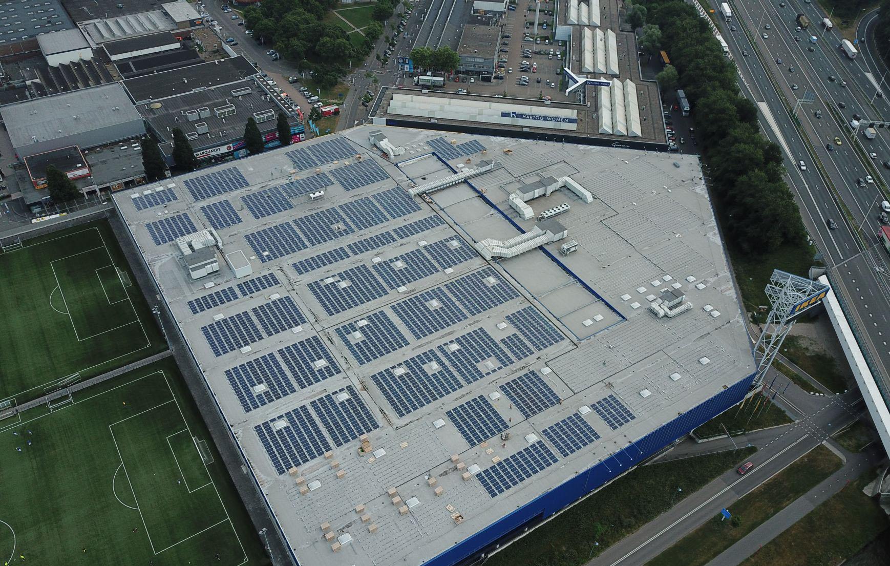 Project: Utrecht - 1,5MWp