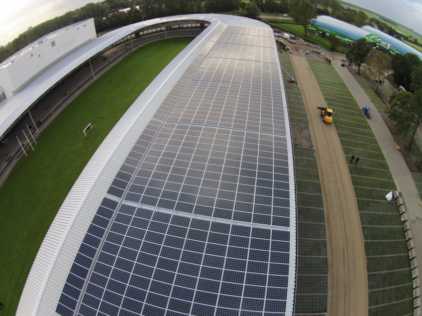 Project: De Meent Alkmaar - IJsbaan & Sporthal 0,5 MWp