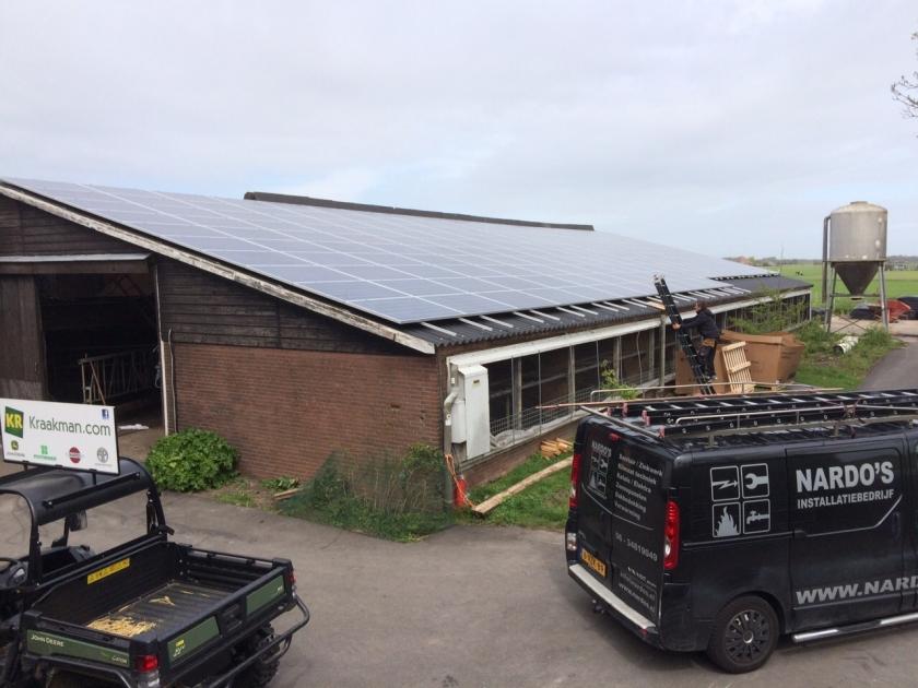 Project: Zorgboerderij Kraakman - 46 kWp