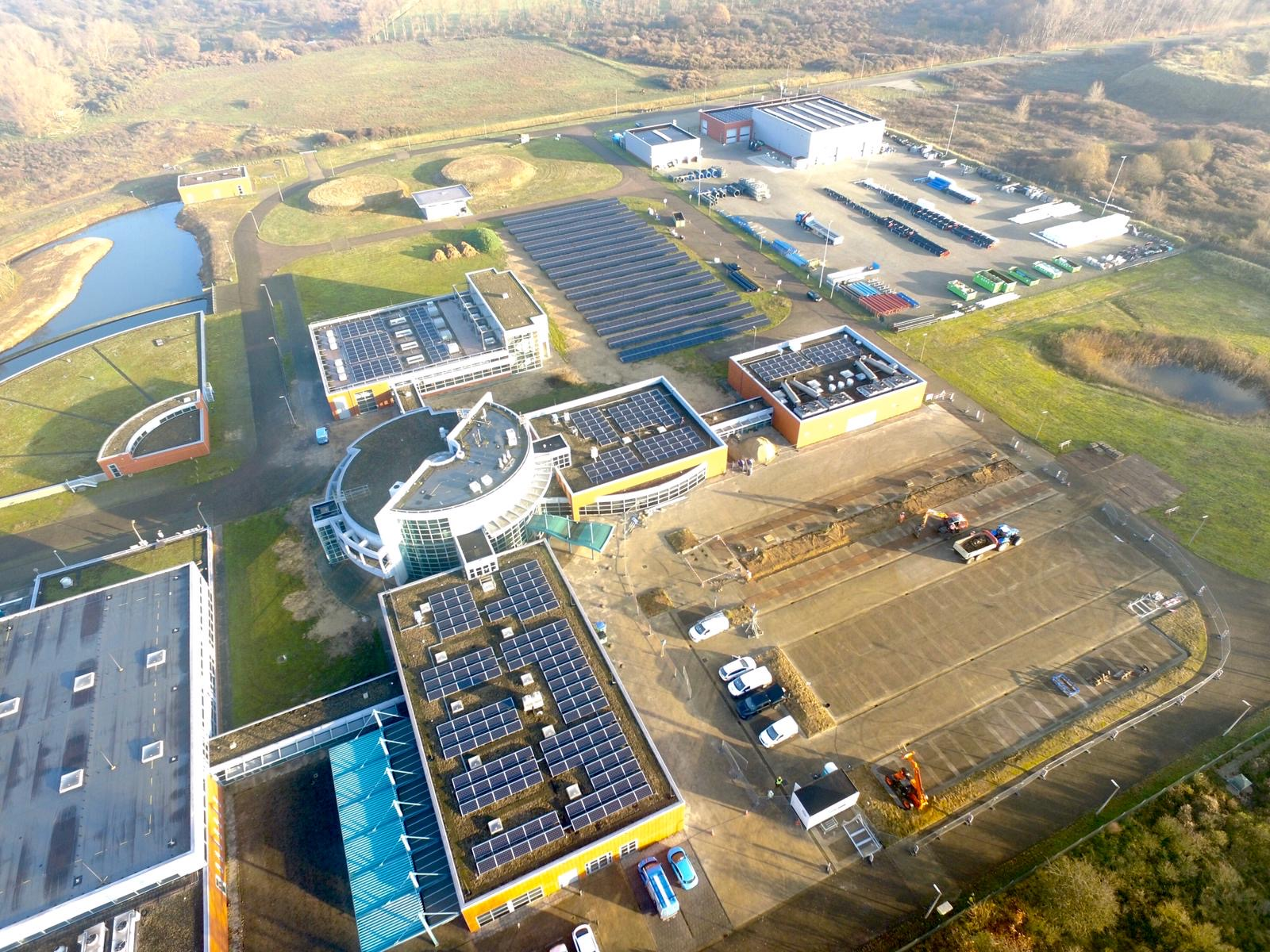 Project: PWN veldopstellingen en solar parking